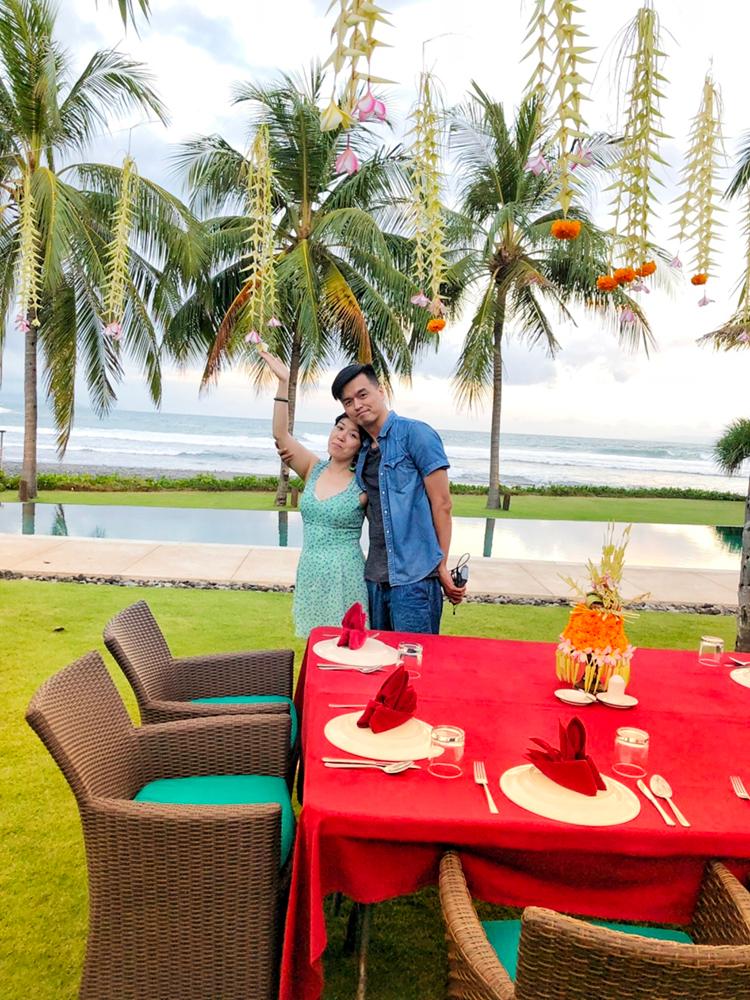 員工的晚餐佈置 峇里島Villa 沙努區 絕色