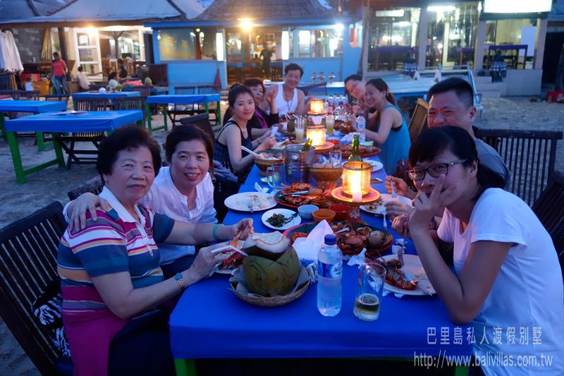 金巴蘭椰殼烤海鮮 Lia Cafe  饕客限定 峇里島必吃 巴里島 自由行 旅遊 巴厘島