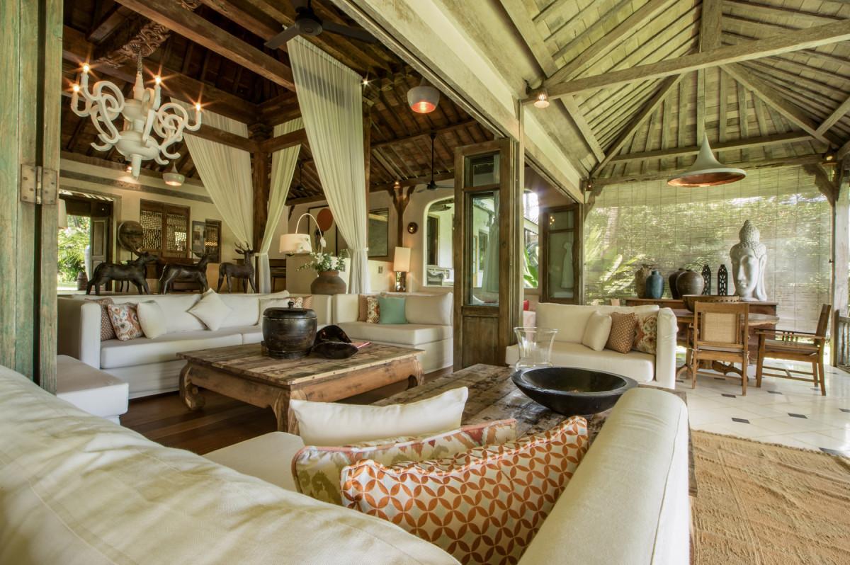 峇里島Villa客廳